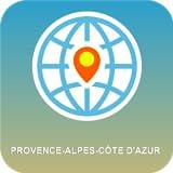 Provence-Alpes-Côte d'Azur Karte
