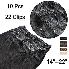 35cm-55cm  Clip In 10 Teiliges