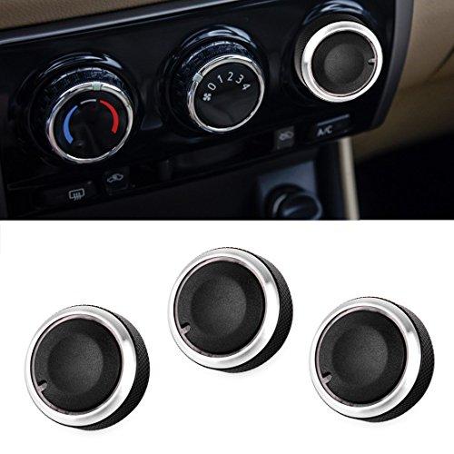 beler 3Auto Klimaanlage Hitze Steuerung Schalter AC Knopf Taste -