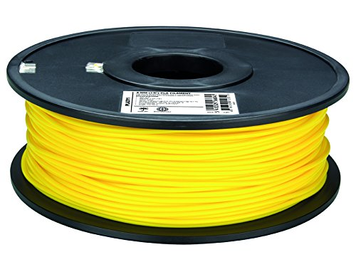 Fil pour imprimante 3D plastique PLA Ø3 mm jaune Velleman PLA3Y1