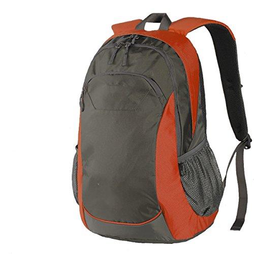 Yy.f Ultra-robust Leicht Reiserucksack Wandern Tagesrucksack Outdoor-Reisen Camping Paar Reiten Rucksack. Multicolor Orange