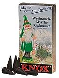 Knox Räucherkerzen, Weihrauch-Myrrhe