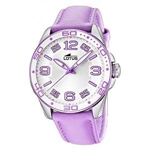 Lotus 15783/2 - Reloj analógico de Cuarzo para Mujer con Correa de Piel, Color Rosa