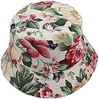 showsing Gorra Ajustable para Mujer con Diseño de Flores, Sombreros de Boonía, Gorra de Caballero Nepalés, E, Medium