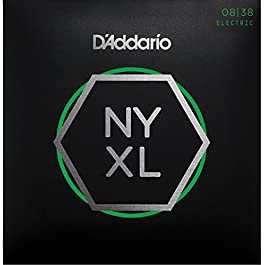 D'Addario NYXL0838 Set Corde Elettrica EXL