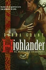 Highlander: el beso del demonio par Donna Grant