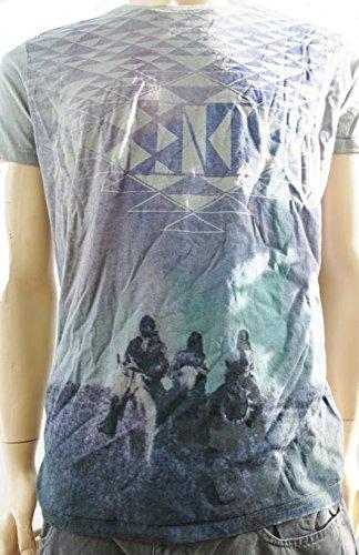Bench -  T-shirt - Maniche corte  - Uomo grigio Grigio - grigio Small