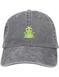 Gorras de béisbol/Hat Trucker Cap Comics Green Frog Crown Personality Unisex Adjustable Baseball Cap