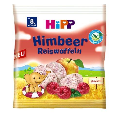 HiPP Himbeer Reiswaffeln, 7er Pack (7 x 35 g)