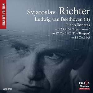 Beethoven : Sonates pour piano n°17, n°18 & n°23