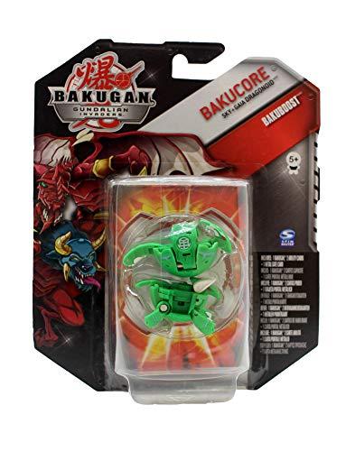 BAKUGAN Gundalian Invaders Bakucore Bakuboost - Sky + Gaia Dragonoid Green Figure - Rare