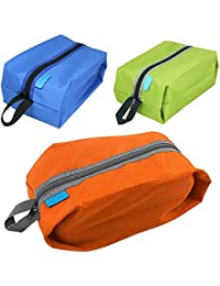 EasyBuy India Orange : 2016 Multi-colored Portable Waterproof Shoe Bag Multi-function Travel Tote Storage Case...