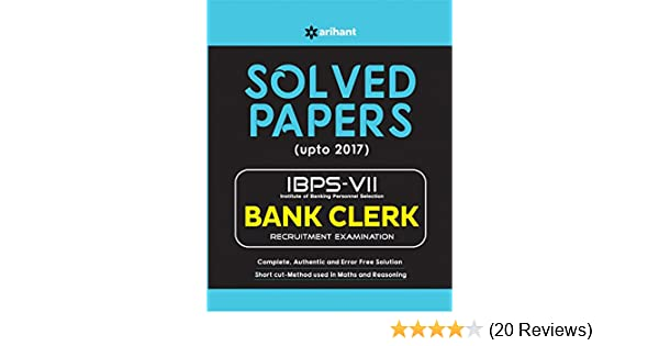 Buy IBPS VII Solved Papers Bank Clerk 2017 Book Online at Low Prices ...