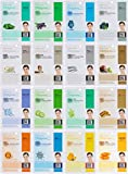 Dermal Korea Collagen Essence Full Face Facial Mask Sheet, 16 Combo Pack immagine
