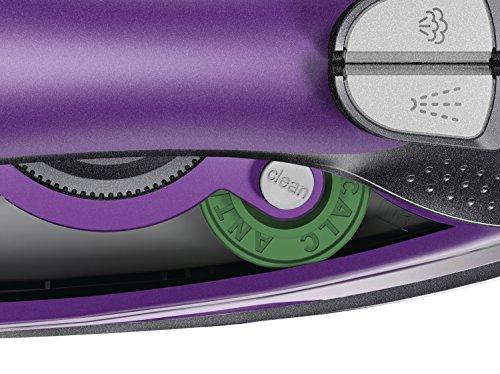 Bosch TDA5071GB Steam Iron, 3100 W, Black/Purple