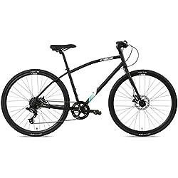 FabricBike Commuter Vélo pour Hommes, Noir Mat, Grande