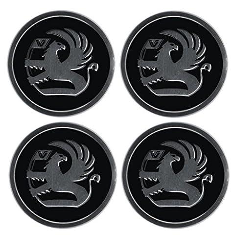 Aufkleber-Set mit Vauxhall-Emblem, für Felgendeckel, Radstern, Raddeckel, Radzierblenden, 4