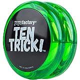 Yo-yo TenTrick by YoyoFactory - Verde (modern spinning yoyo, beginner friendly)