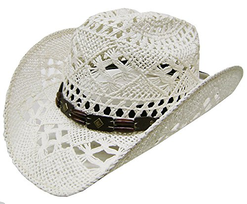 modestone-womens-cool-summery-straw-hat-white
