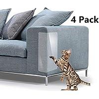 Andy Mr Cat Scratch Furniture, 4 Protectores de Vinilo para Mascotas de Alta Calidad, Flexible, para Proteger la tapicería, Paredes, colchón, Puerta