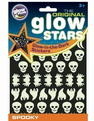Kids Activity Room The Original Glowstars Spooky Dark Glow Children Wall Sticker by Brainstorm