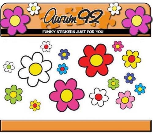30-funky-daisy-pegatinas