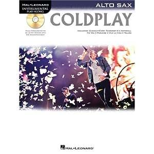 Alto Saxophone Play-Along: Coldplay. Partitions, CD pour Saxophone Alto