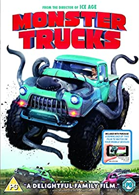 Monster Trucks (DVD + Digital Download) [2016]