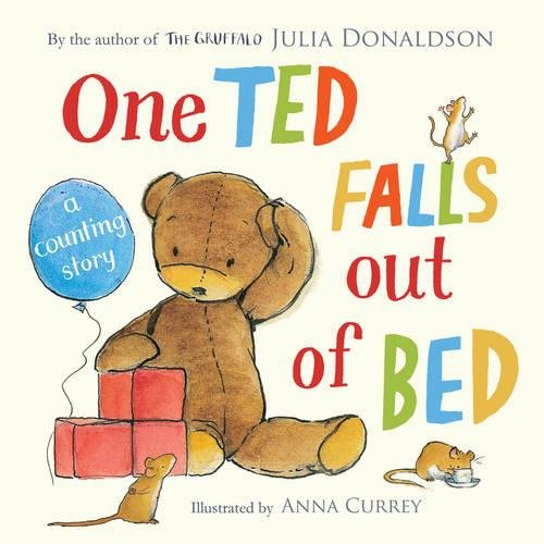 One Ted Falls Out of Bed (Hamster Teddy Bear)