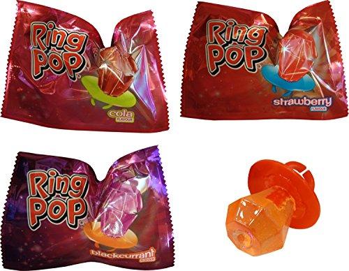 Ring Pops (6 mitgeliefert) - Sechs Ringe