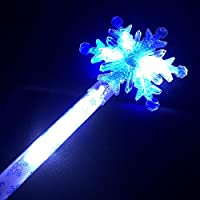 Beamz Delightful Toys Giant Flashing Snowflake Wand [Blue & White LEDs]