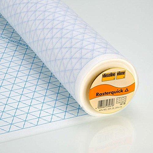 Fabulous Fabrics Vlieseinlage weiß, 90cm breit - zum Einnähen auf Jacken, Kleider oder Oberteile - Meterware erhältlich ab 0,5 m