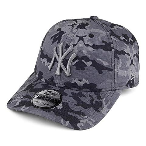New Era Damen Caps / Snapback Cap Seasonal Camo NY Yankees 9Forty camouflage Verstellbar