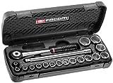 Facom S.161.6PG Coffret de serrage 1/2' S.161 douilles + Embouts