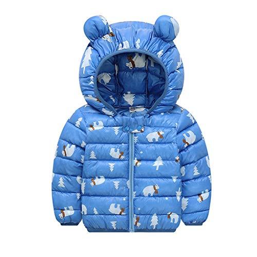 Lookhy Jungen Mädchen Chlidren Winter Mäntel Jacke Kinder Zip Dicke Ohren Schnee Hoodie - Baby Alte Oma Kostüm