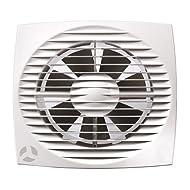 Airflow Aura-eco 100HT 100mm Cappa Aspirante con Timer e Sensore di Umidità (Casa e Cucina)