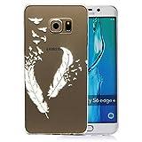 tinxi® Coque Protection Silicone TPU pour Samsung Galaxy S6 Edge Plus/S6...
