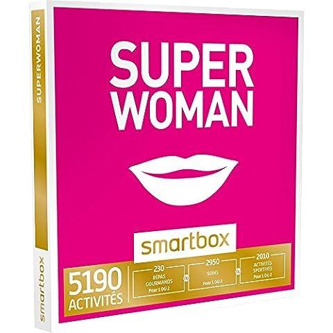 Smartbox - Coffret Cadeau - Superwoman - 5190 Activits : Sance Bien-tre, Gastronomie Ou Aventure Pour Les