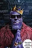 #6: Zemfo Thanos Poster Extra Large 18x24 inch | Cool Badass Thanos - Marvel Avengers Movie Superhero Poster