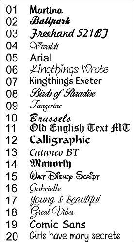 Haustürschild 20×15 cm Türschild Namensschild Schiefer Gravur #0021 Wahlweise (Wandabstandshalter, Löcher und Ungelocht) - 3
