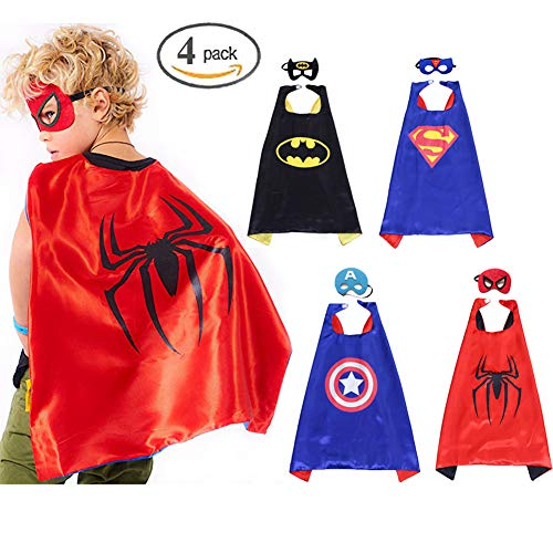 Superhelden Dress up Kostüm Spielzeug Superhelden Cape und -