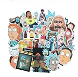 SZYND Cartoon Pvc Waterproof Sticker For Luggage Skateboard Phone Laptop Moto Trunk Guitar Car Diy Stickers 35 Pcs
