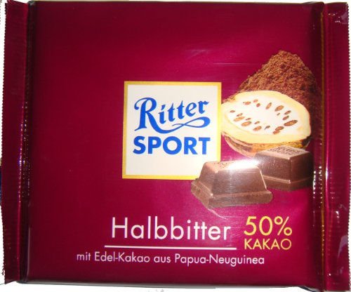 Ritter Sport Halbbitter 100g