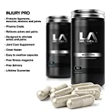 LA Muscle Injury Pro Glucosamine formula 90 Capsules. Glucosamine Joint Care Supplement, Natural Ingredients, MSM Relieves Aches & Pains Quickly and Naturally. Lifetime Money Back Guarantee, Risk Free Purchase