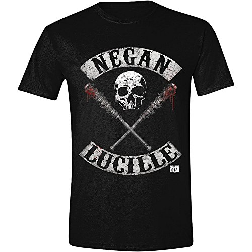 Walking Dead Negan Lucille Rockers, Camiseta para Hombre, (Noir), XX-Large
