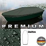 Premium Boot Persenning - Anka, Ruderboot, Schlauchboot, Angelboot & Co Bootsplane extrem reißfest (Olivgrün, 420 cm x 140 cm)