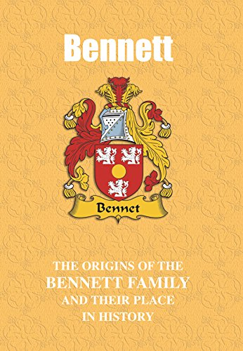 Bennett Place (Bennett (English Mini-Book): The origins of the family name Bennett and their place in history (English Name Mini-Books) (English Edition))