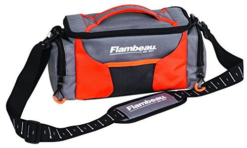 Flambeau Outdoors Ritual Tasche, Ritual, orange / grau, Small (Small Fishing Tackle Box)