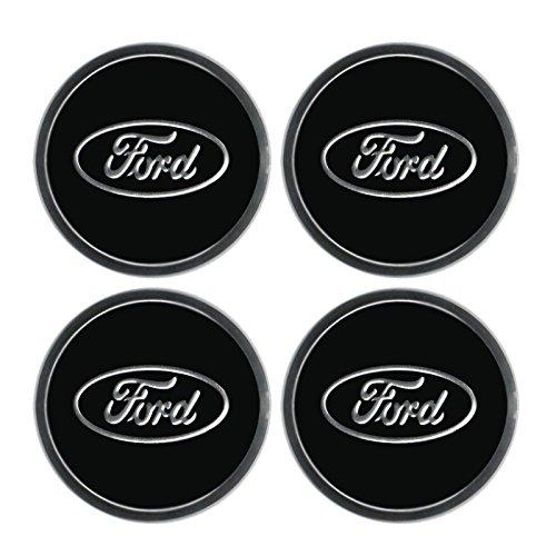 Ford Replica ruota centro leghe di Logo Sticker Set di 4copricerchi ruota adesivo