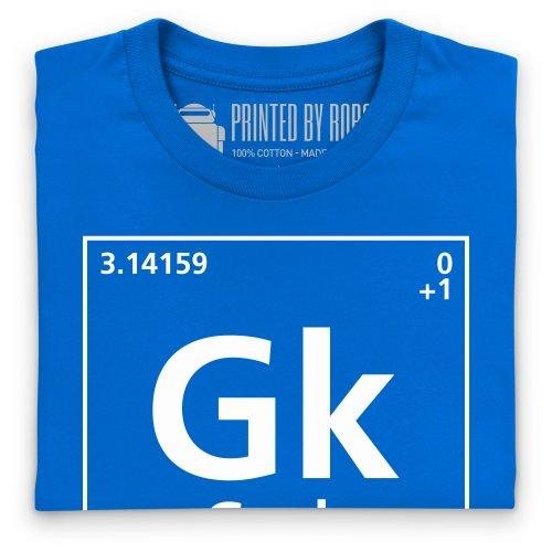 Periodic Geek T-Shirt, Herren Royalblau